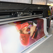 We will print on the tarpaulins