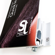 Tecosign fastening system & PVC banners