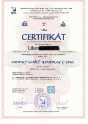 Evropský svářeč termoplastů (EPW)