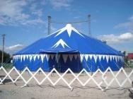 konstrukce cirkusových stanů