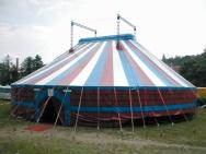 tisk na cirkusové stany