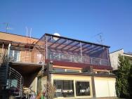 plachtové krytí balkonů