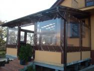 letní terasa s ochranou proti dešti