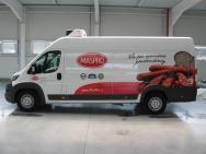 polep dodávky pro firmu Maspro