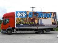 advertising truck tarpaulins