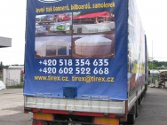 trailer with print