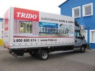 reklamní autoplachta TRIDO