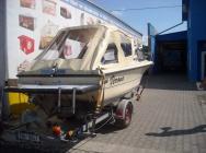 zaplachtování člunů