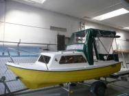 PVC krytí člunů s výhledem