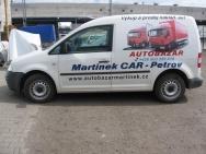polep firemního automobilu Martinek Car