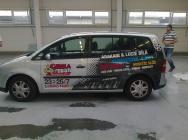 CibulaFest - propagační polep automobilu