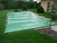 plachtové krytí bazénů