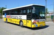 velkoplošný polep autobusu