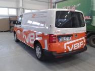 reklamní polep VBF