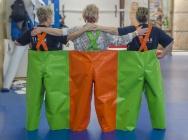 speciální troj-kalhoty z plachtoviny