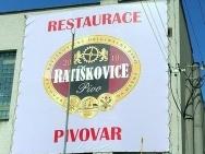 velkoformátový reklamní banner pro minipivovar