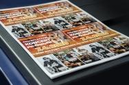tisk letáků a plakátů