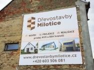 banner 5 x 5 m pro Dřevostavby Milotice