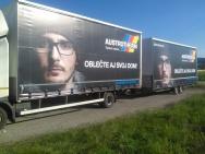 truck advertisement design