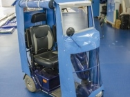 zaplachtování elektrického vozíku
