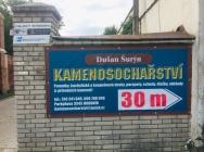 banner se směrovkou